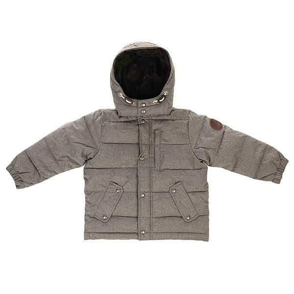 Куртка зимняя детская Quiksilver Woolmore Tod Light Grey Heather