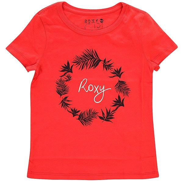Футболка детская Roxy Little basic tee Bright Pink<br><br>Цвет: розовый<br>Тип: Футболка<br>Возраст: Детский