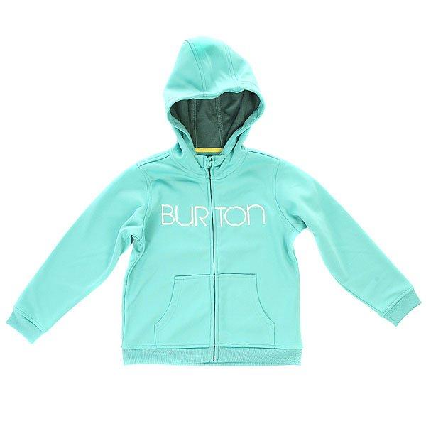 Толстовка классическая детская Burton Mini Scp Hdd Lagoon Blue<br><br>Цвет: голубой<br>Тип: Толстовка классическая<br>Возраст: Детский