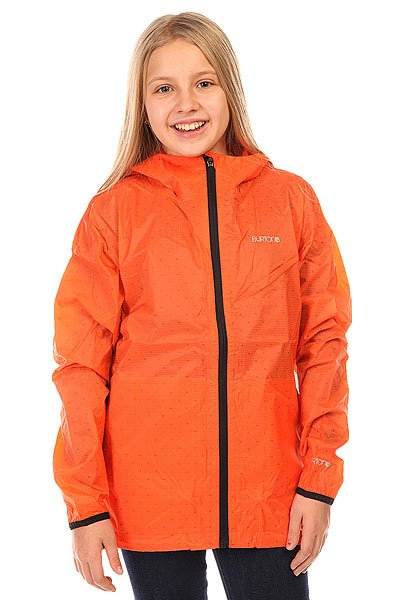 Ветровка детская Burton Meadow Jkt Nasturtium<br><br>Цвет: оранжевый<br>Тип: Ветровка<br>Возраст: Детский