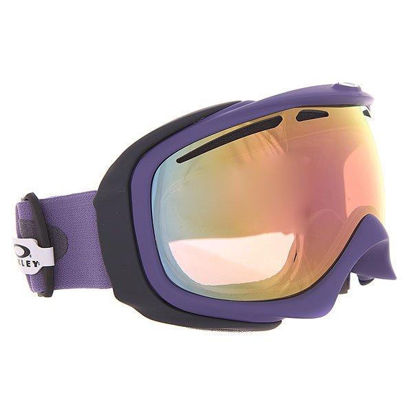 Маска для сноуборда Oakley Elevate Purple Sage Vr50 Pink Iridium