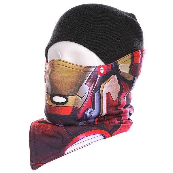 Маска Airhole Marvel S1 Ironman маска airhole s2 3 layer black