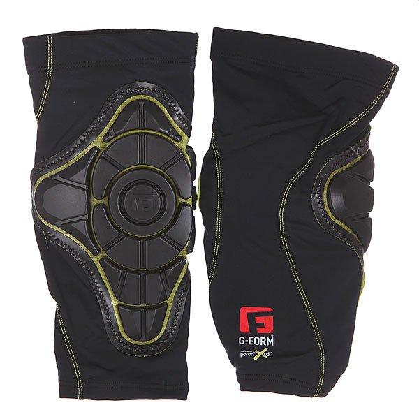 Защита G-Form Pro-X Knee Pads Black/YellowГибкая, легкая и дышащая защита без дополнительного объема, которая не сковывает движений.Технические характеристики:Полностью артикулированная конструкция обеспечивает максимальную защиту.Материал Poron XRD® - легкая дышащая пена обеспечивает амортизацию.Защитные подушечки.Можно стирать в машине.<br><br>Цвет: черный,желтый<br>Тип: Защита<br>Возраст: Взрослый<br>Пол: Мужской
