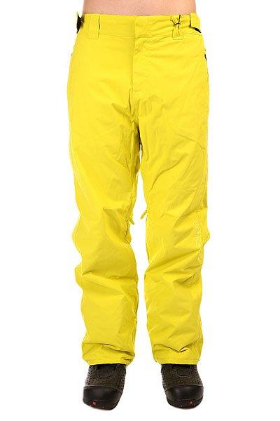 Штаны сноубордические Billabong Classic CitrusПоистине, про эти штаны можно сказать то, что в них нет абсолютно ничего лишнего. Строгий дизайн и полный функционал позволят Вам сосредоточиться на покорении склонов. Дышащая мембрана 10.000 мм не даст штанам промокнуть, а свободный крой даст волю движениям. Характеристики:Дышащая и водонепроницаемая мембрана.Полностью проклеенные швы. Снегозащитные гетры с крючком для ботинка. Утепленные карманы с креплением для ключей. Регулировка талии.<br><br>Цвет: желтый<br>Тип: Штаны сноубордические<br>Возраст: Взрослый<br>Пол: Мужской