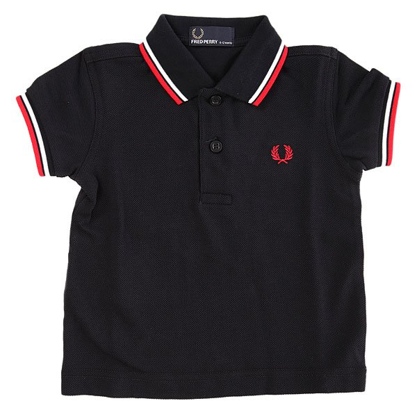 Поло детское Fred Perry My First Fred Perry Shirt Black fred perry b8233 143
