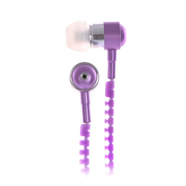 Наушники с микрофоном Look Desire White/Purple