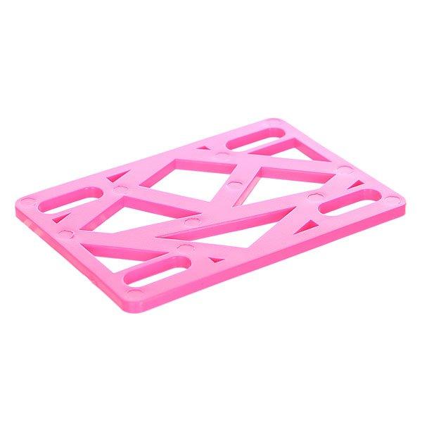 Подкладки для скейтборда Krooked Riser Hot 1/8 Pink
