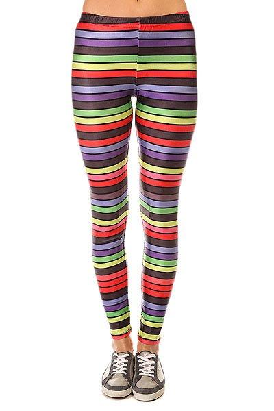 Леггинсы женские Look Stripes Multi<br><br>Цвет: мультиколор<br>Тип: Леггинсы<br>Возраст: Взрослый<br>Пол: Женский