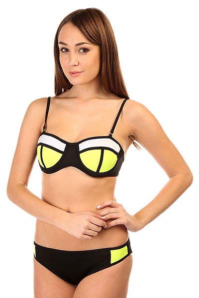 Купальник женский Look 2D Black/Yellow<br><br>Цвет: черный,желтый<br>Тип: Купальник<br>Возраст: Взрослый<br>Пол: Женский