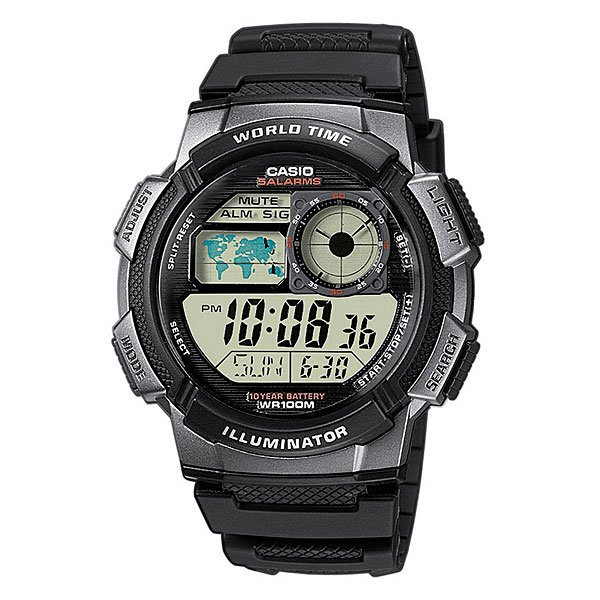 Часы Casio Collection 49694 Ae-1000W-1B Black