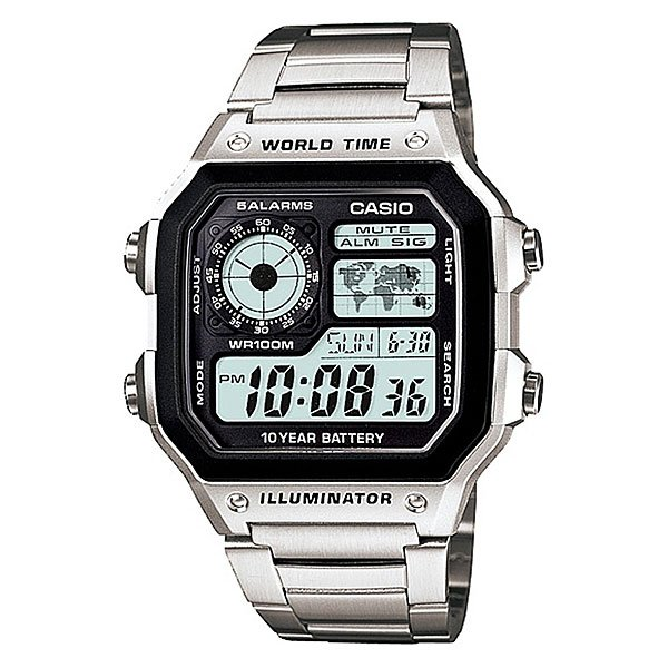 Часы Casio Collection 56735 Ae-1200Whd-1A Grey часы casio collection ae 1000wd 1a grey