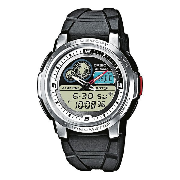 Часы Casio Collection 41056 Aqf-102W-7B Steel Grey/Black