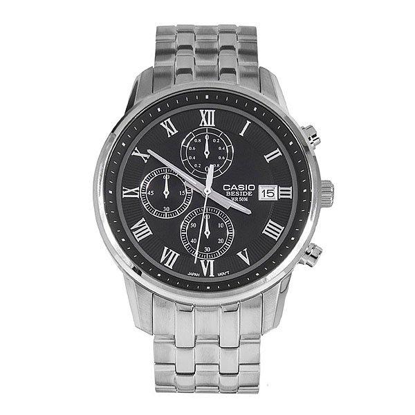 Часы Casio Collection 61809 Bem-511D-1A GreyМощные, стильные  часы в прочном корпусе из нержавеющей стали.Технические характеристики: Неоновый дисплей.Дисплей с датой.Функция секундомера - 1 час.Минеральное стекло - прочное, устойчивое к царапинам минеральное стекло защищает часы от повреждений.Прочный корпус из нержавеющей стали.Крышка с винтовым фиксатором.Браслет из прочной нержавеющей стали.Предохранительная защелка.Время работы аккумулятора - 2 года.Водонепроницаемость (5 Бар) - 50м.Точность +/- 20 сек в месяц.<br><br>Цвет: серый<br>Тип: Кварцевые часы<br>Возраст: Взрослый<br>Пол: Мужской