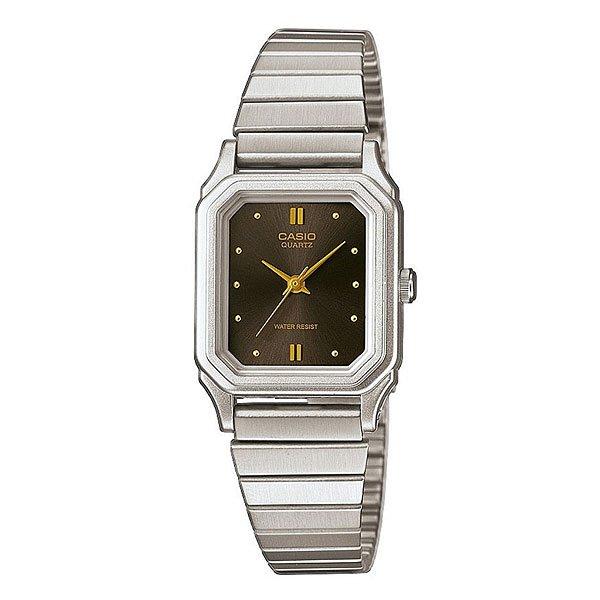 Часы Casio Collection 65206 Lq-400D-1A Grey/BrownЭлегантные наручные часы в классическом металлическом корпусе на браслете из нержавеющей стали.Технические характеристики: Кварцевый механизм.Минеральное стекло - устойчивое к царапинам минеральное стекло защищает часы от повреждений.Корпус из нержавеющей стали.Браслет из нержавеющей стали.Водонепроницаемость - модель устойчива к мелким брызгам. Любые контакты с большим количеством воды следует избегать.Точность +/- 15 сек в месяц.<br><br>Цвет: серый,коричневый<br>Тип: Кварцевые часы<br>Возраст: Взрослый<br>Пол: Мужской