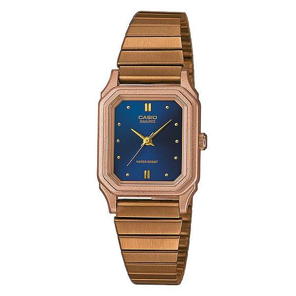 Часы Casio Collection 65208 Lq-400R-2A Brown/BlueЭлегантные наручные часы в классическом металлическом корпусе на браслете из нержавеющей стали.Технические характеристики: Кварцевый механизм.Минеральное стекло - устойчивое к царапинам минеральное стекло защищает часы от повреждений.Корпус из нержавеющей стали золотого цвета.Браслет из нержавеющей стали золотого цвета.Водонепроницаемость - модель устойчива к мелким брызгам. Любые контакты с большим количеством воды следует избегать.Точность +/- 15 сек в месяц.<br><br>Цвет: коричневый,синий<br>Тип: Кварцевые часы<br>Возраст: Взрослый<br>Пол: Мужской