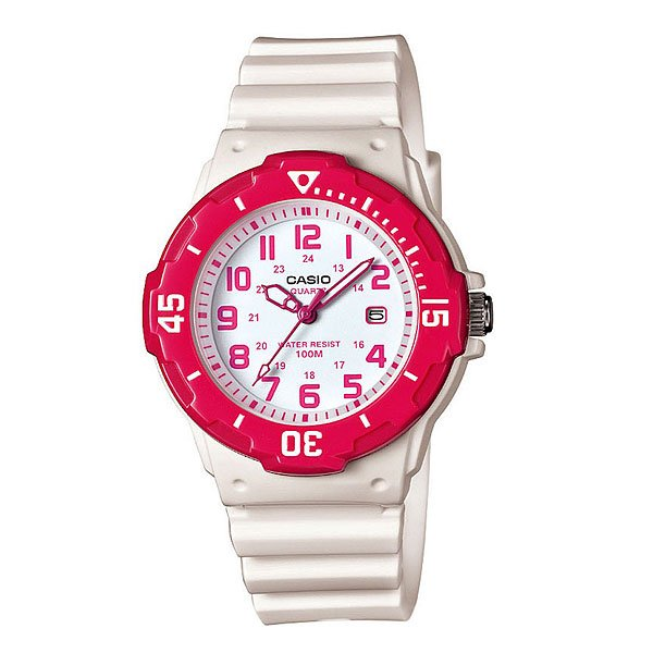 Часы Casio Collection 61537 Lrw-200H-4B White/Pink casio mrw 200h 4b