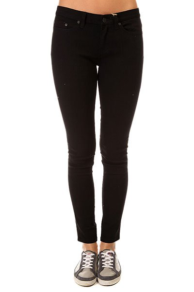 Джинсы узкие женские Insight Python Super Skinny Shorty Black Rinse джинсы узкие женские insight run down skinny crop acid black