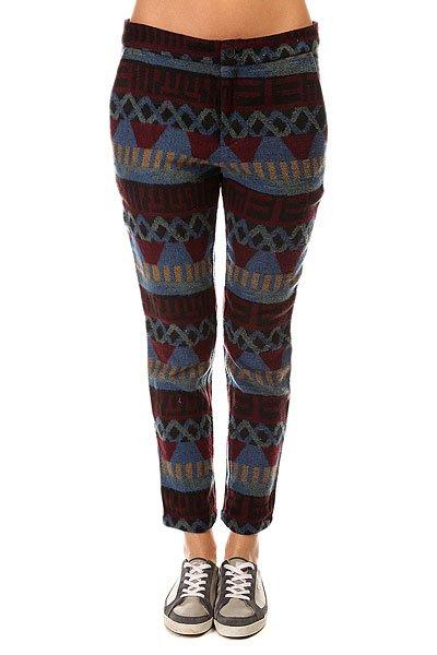 Штаны прямые женские Insight Geo Stripe Jacquard Pants Multi<br><br>Цвет: мультиколор<br>Тип: Штаны прямые<br>Возраст: Взрослый<br>Пол: Женский
