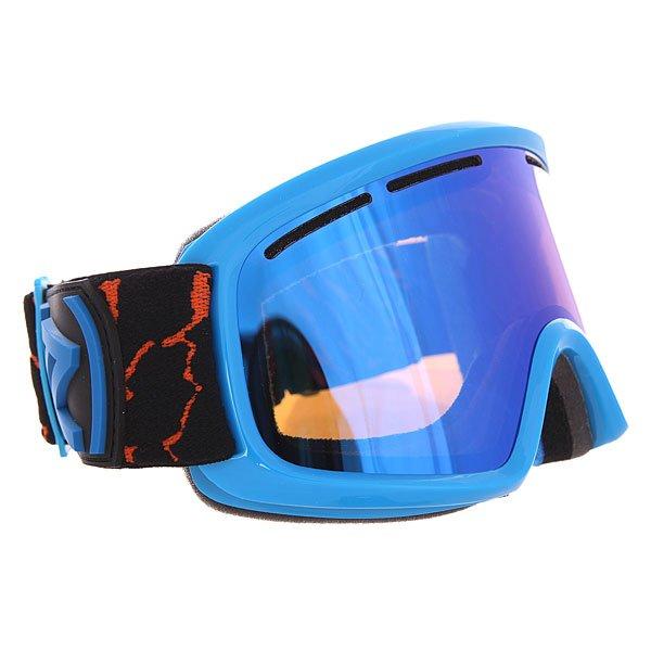 Маска для сноуборда Von Zipper Trike Sky ChromeДетская сноубордическая маска с двойными линзами и отличным периферийным обзором.Технические характеристики: Двойные цилиндрические линзы из поликарбоната.Противотуманное покрытие Anti-fog.Покрытие линз препятствующее царапинам.Вентиляционные отверстия.Оправа - термополиуретан.Тройной слой пены и слой флиса.Совместима со шлемом.Регулируемый ремень.Детский размер.<br><br>Цвет: синий,черный<br>Тип: Маска для сноуборда<br>Возраст: Взрослый<br>Пол: Мужской