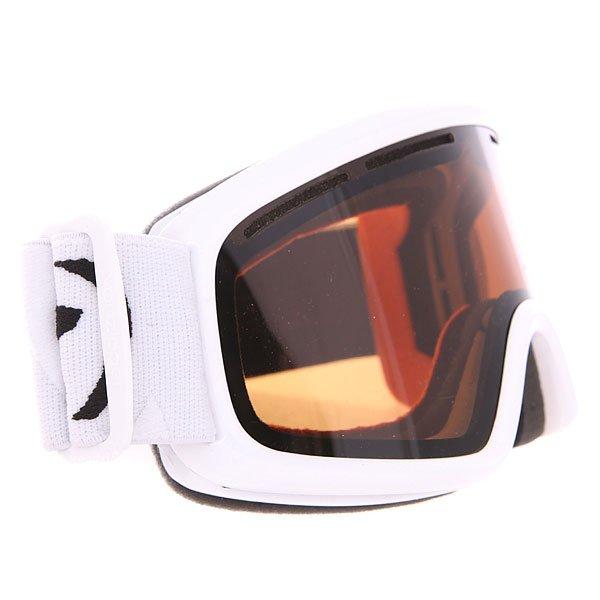 Маска для сноуборда Von Zipper Trike BronzeДетская сноубордическая маска с двойными линзами и отличным периферийным обзором.Технические характеристики: Двойные цилиндрические линзы из поликарбоната.Противотуманное покрытие Anti-fog.Покрытие линз препятствующее царапинам.Вентиляционные отверстия.Оправа - термополиуретан.Тройной слой пены и слой флиса.Совместима со шлемом.Регулируемый ремень.Детский размер.<br><br>Цвет: белый,коричневый<br>Тип: Маска для сноуборда<br>Возраст: Взрослый<br>Пол: Мужской