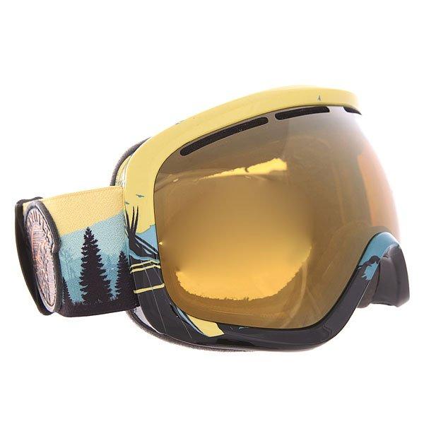 Маска для сноуборда Von Zipper Skylab Copper Chrome
