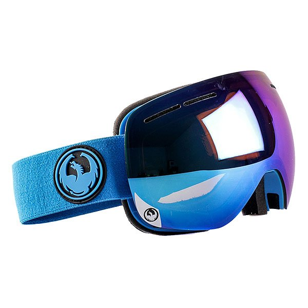 Маска для сноуборда Dragon X1s Azure/Blue Steel Yellow Red Ion OneМаска Dragon X1s - младший собрат маски X1, отличающийся только размером, подходящим большему количеству людей.Надежнаяи невероятно стильнаямаскасо сферической линзой из поликарбоната защитит Ваши глаза от солнца и ветра. Dragon X1s имеет средниегабариты и обладает великолепным периферийным и вертикальным обзором. Приятным и далеко не самым маловажным дополнением является обработка линз против запотеванияSuper Anti-Fog, которая в сочетании с надежной системой вентиляцииArmored Ventilation не позволит Вам ни на секунду отвлечьсяот катания на склоне или в полях пухляка.Характеристики:Надежная система вентиляции Armored Ventilation. Безоправная конструкция. Сферические линзы из поликарбоната. Покрытие Super Anti-Fog предотвращает запотевание линзы. Трехслойная пена с гипоаллергенной подкладкой из микрофлиса. 100% защита от ультрафиолета. Улучшенная циркуляция воздуха. База кривизны линзы 6: превосходная четкость без искажений. Регулируемый ремешок. Маска совместима со шлемом. Medium Fit - маска среднего размера.<br><br>Цвет: голубой<br>Тип: Маска для сноуборда<br>Возраст: Взрослый<br>Пол: Мужской