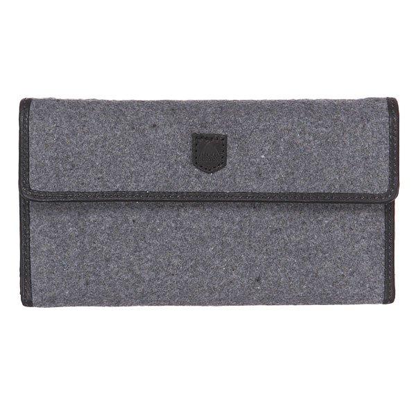 ������� Burton Wb Tri Fold Wallet Grey Wool
