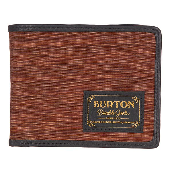 ������� Burton Mb Lnghaul Wallet Wood Grain