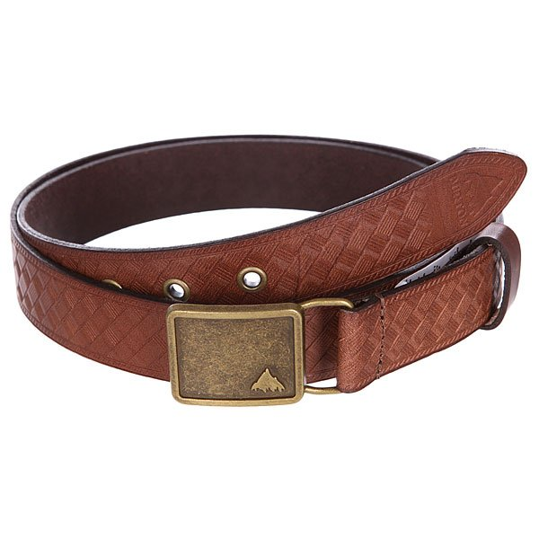 Ремень Burton Wb Embssd Lthr Brown Leather