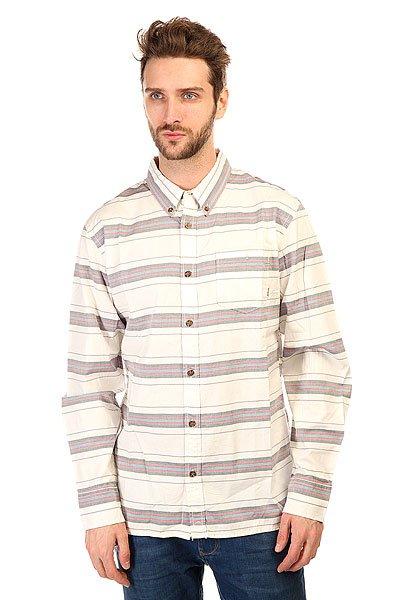 Рубашка Burton Mb Farrel Wvn Ls Vanilla Dumont Strp