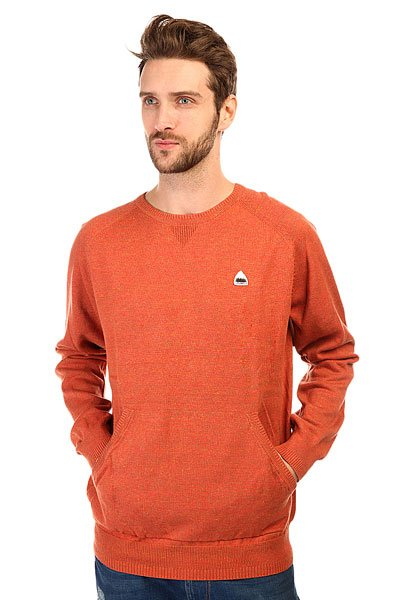 Толстовка свитшот Burton Mb Phoenix Swtr Red Clay HeatherЛегкий и теплый свитшот классического кроя, с круглым воротом и карманами-«кенгуру» выглядит гораздо стильнее и приятнее, чем классический массивный джемпер.Характеристики:Круглый вырез. Рукава реглан.Нашивка с названием бренда. Карманы-«кенгуру».<br><br>Цвет: оранжевый<br>Тип: Толстовка свитшот<br>Возраст: Взрослый<br>Пол: Мужской