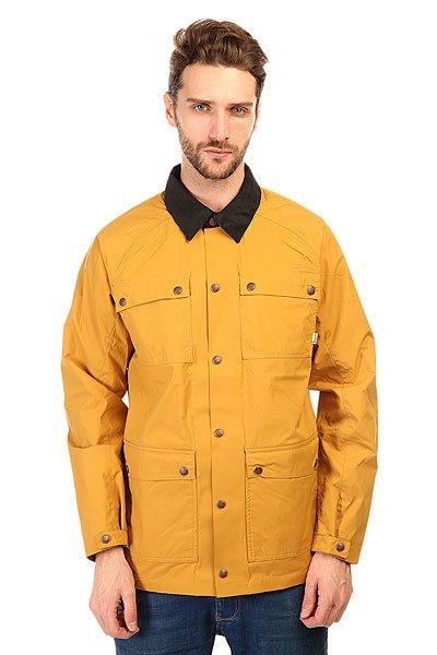 Куртка Burton Mb Delta Jkt Wood ThrushКлассическая куртка в обновленном дизайне из прочной, функциональной ткани.Технические характеристики: Вельветовый воротник.Нагрудные карманы.Карманы для рук.Манжеты на кнопках.Классический крой.Застежка - кнопки.<br><br>Цвет: желтый<br>Тип: Куртка<br>Возраст: Взрослый<br>Пол: Мужской