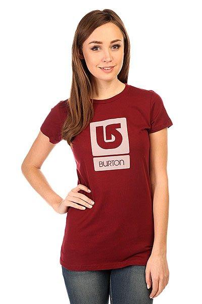Футболка женская Burton Lgo Vertical Ss OxbloodЭта футболка украшена классическим логотипом Burton, так что Вы сможете поддержать свою любимую сноубордическую компанию даже летом.Характеристики:Круглый вырез. Короткий рукав. Принт-логотип на груди.<br><br>Цвет: бордовый<br>Тип: Футболка<br>Возраст: Взрослый<br>Пол: Женский