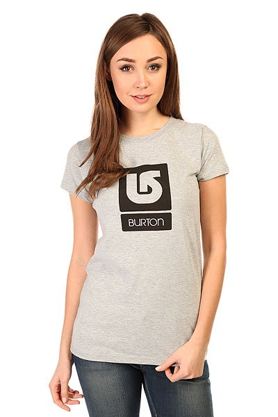 Футболка женская Burton Lgo Vertical Ss Heather GreyЭта футболка украшена классическим логотипом Burton, так что Вы сможете поддержать свою любимую сноубордическую компанию даже летом.Характеристики:Круглый вырез. Короткий рукав. Принт-логотип на груди.<br><br>Цвет: серый<br>Тип: Футболка<br>Возраст: Взрослый<br>Пол: Женский