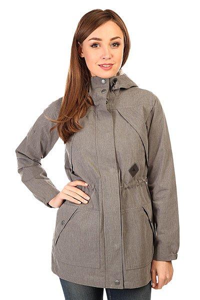 Куртка женская Burton Wb Sadie Jkt Dark Ash Heather