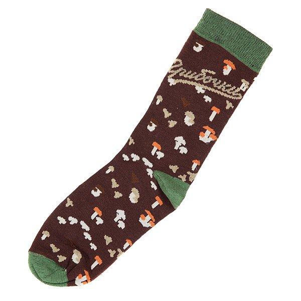 Носки средние женские Запорожец Грибочки Black носки средние женские запорожец лук белый оранжевый