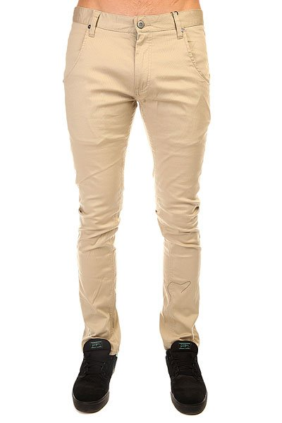 Штаны узкие Etnies Crenshaw Slim Chino Khaki штаны прямые billabong new order chino khaki