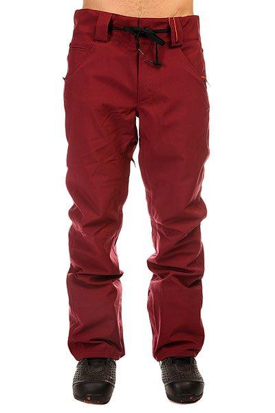 Штаны сноубордические Thirty Two Wooderson Pant BurgundyУдобные сноубордические штаны для комфортного катания.Характеристики:Проклеенные критические швы. Петли для ремня на поясе.Водоотталкивающее покрытие. Вентиляционная система. Карманы для рук.Манжет для Ботинка. Нижняя часть штанины на молнии.<br><br>Цвет: бордовый<br>Тип: Штаны сноубордические<br>Возраст: Взрослый<br>Пол: Мужской