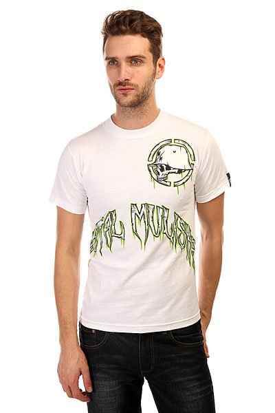 Футболка Metal Mulisha Ice Factor Tee White