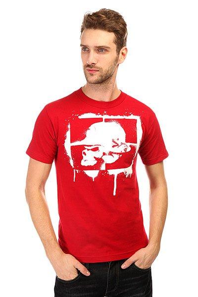 Футболка Metal Mulisha Rush Job Cardinal<br><br>Цвет: бордовый<br>Тип: Футболка<br>Возраст: Взрослый<br>Пол: Мужской