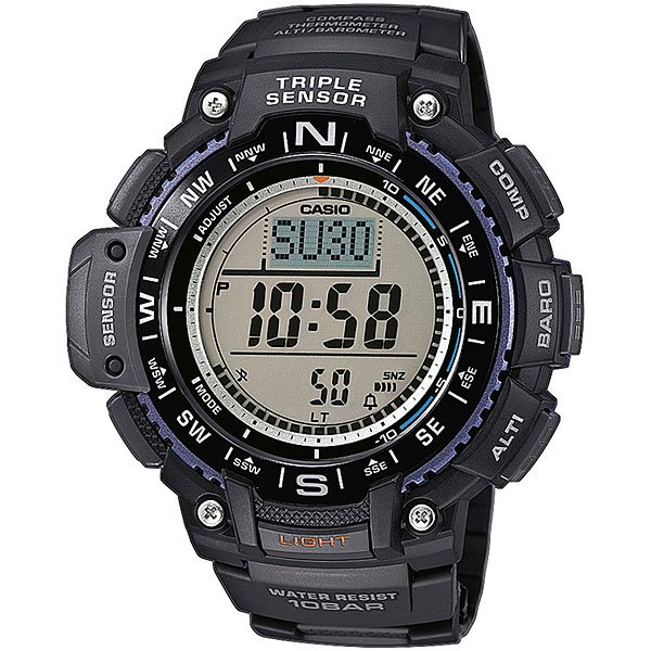 Часы Casio G-Shock Collection Sgw-1000-1a Black casio sgw 1000 1a