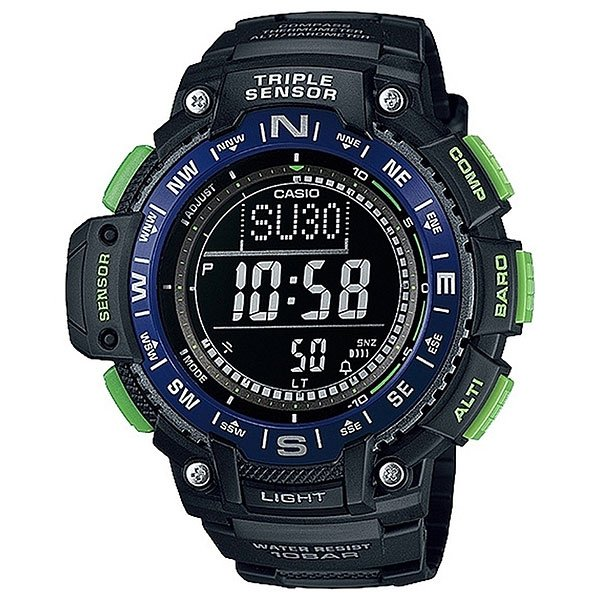 Часы Casio G-Shock Collection Sgw-1000-2b Black/Blue casio sgw 1000 2b
