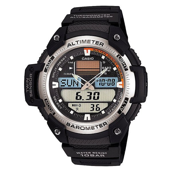 Часы Casio Collection Sgw-400h-1b Black casio outgear sgw 400h 1b