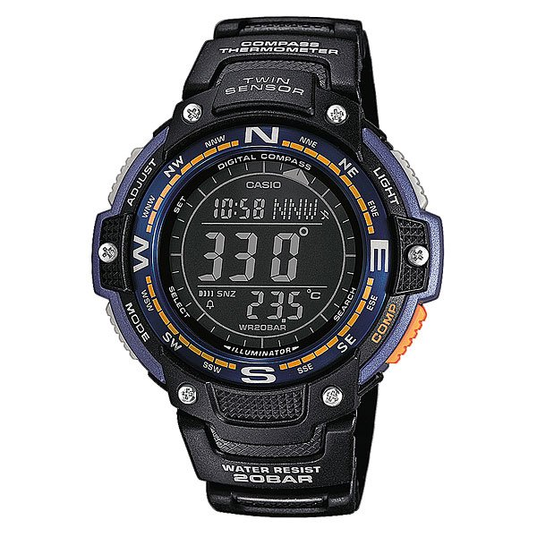 Часы Casio Collection Sgw-100-2b Black casio sgw 1000 2b