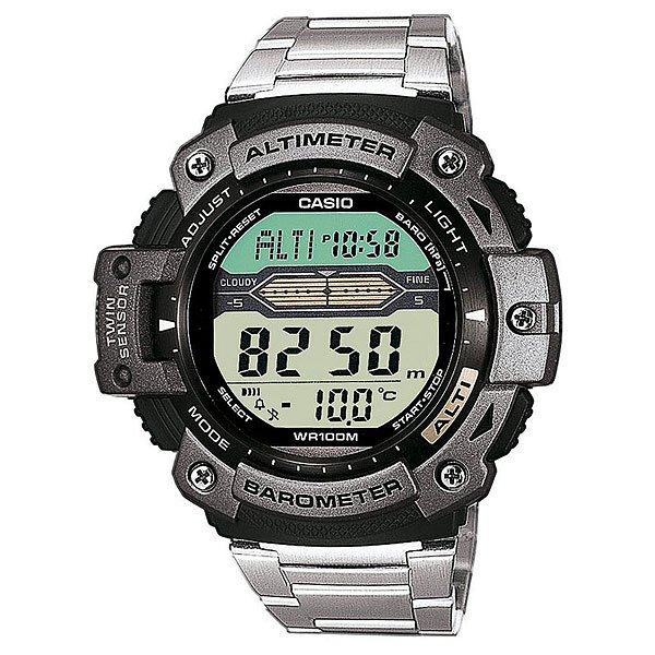 Часы Casio Collection Sgw-300hd-1a Black/Grey