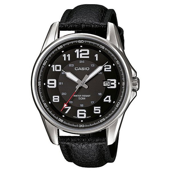Часы Casio Collection Mtp-1372l-1b Silver/Black casio часы casio mtp 1372d 1b коллекция analog