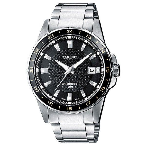 Часы Casio Collection Mtp-1290d-1a2 SilverНаручные часы с легкочитаемым крупным циферблатом с центральной секундной стрелкой и окошком даты на стальном браслете. Характеристики:Точный кварцевый механизм. Центральная секундная стрелка. Окошко даты. Срок службы батареи 3 года.Минеральное стекло устойчивое к возникновению царапин. Задняя крышка с винтовым фиксатором. Браслет из нержавеющей стали. Браслетный замок с тройным сгибом, расстегиваемый одним касанием. Точность хода: не хуже +/-20 секунд в месяц.<br><br>Цвет: серый<br>Тип: Кварцевые часы<br>Возраст: Взрослый<br>Пол: Мужской