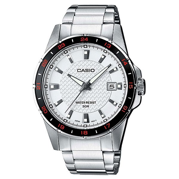 Часы Casio Collection Mtp-1290d-7a Silver
