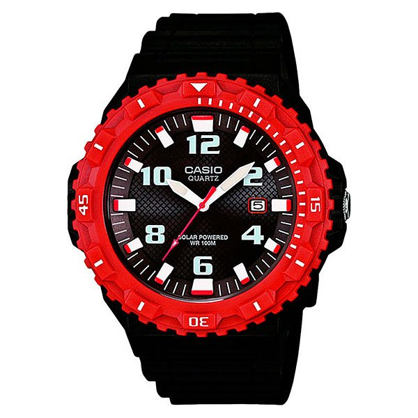 Часы Casio Collection Mrw-s300h-4b Black/Red casio stl s300h 1a