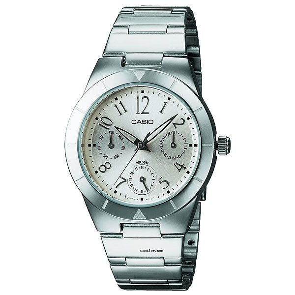 Часы Casio Collection Ltp-2069d-7a2 Silver кварцевые часы casio collection ltp e118g 5a